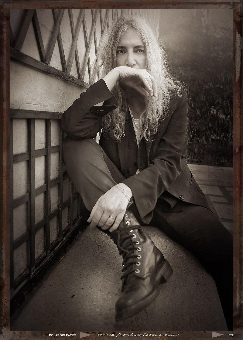 Patti Smith & Her Band featuring Jackson Smith and Jesse Paris Smith will perform on Mountain Stage Sunday February 11.