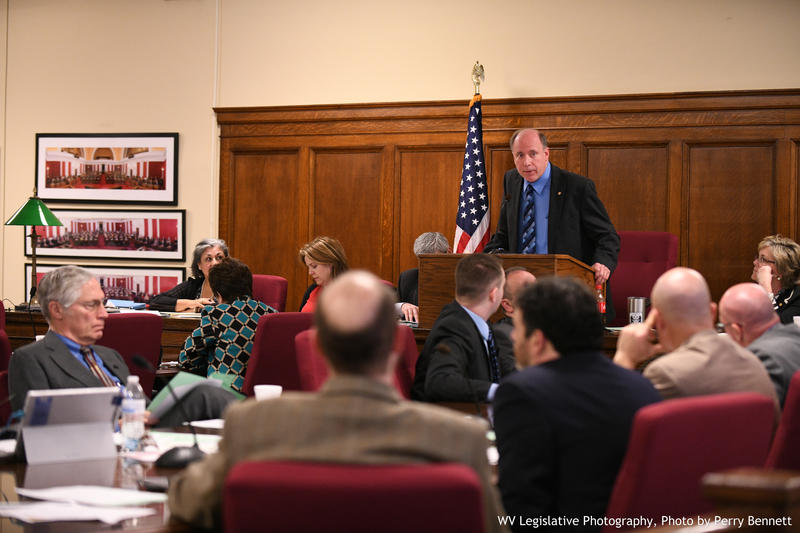 Del. Joe Ellington presides over the House Health Committee in this January 23, 2018 file photo.