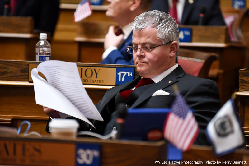 Del. Mick Bates, a Democrat, was the only House member to vote against House Resolution 5, which calls on the PEIA Finance Board to hold off on plan changes for the upcoming year. (File Photo)
