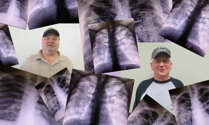 Edward Brown and Jerry Helton are both struggling with black lung disease.