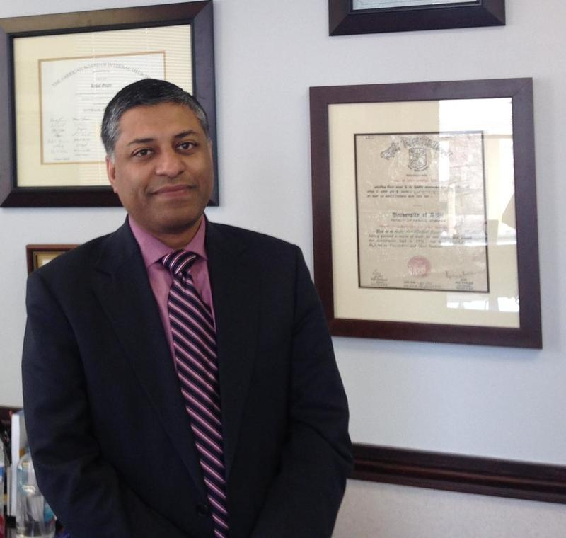 Dr. Rahul Gupta is the Commissioner of the Bureau for Public Health in West Virginia, which has the nation's highest overdose death rate.