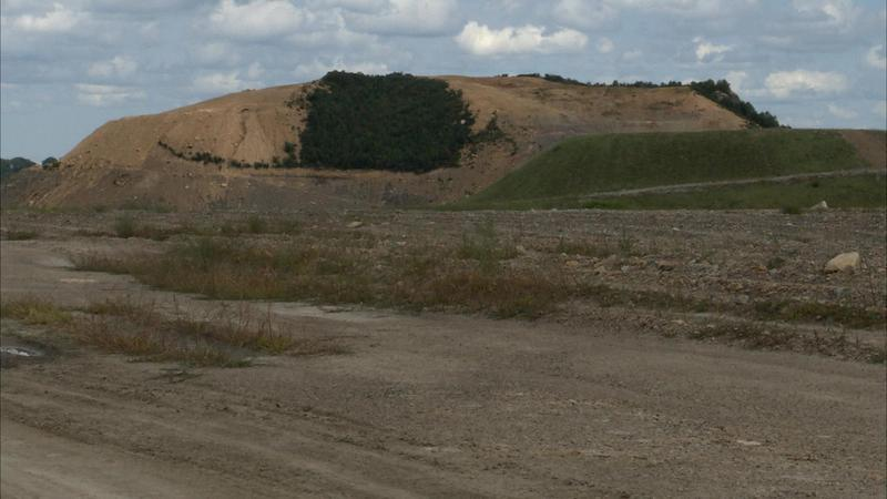 Former strip mine in Boone County