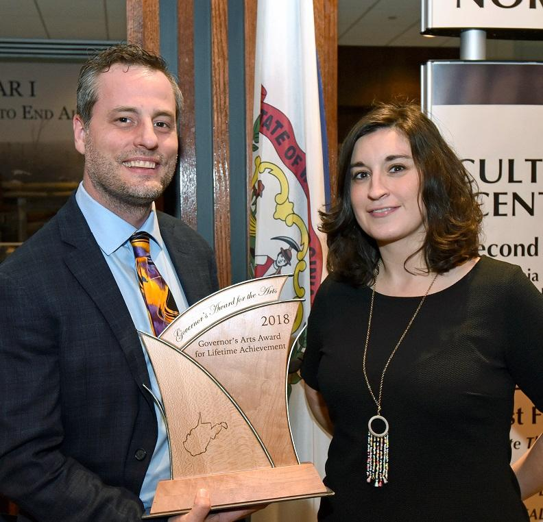Executive Producer Adam Harris and Associate Producer Vasilia Scouras were on hand for the awards ceremony.