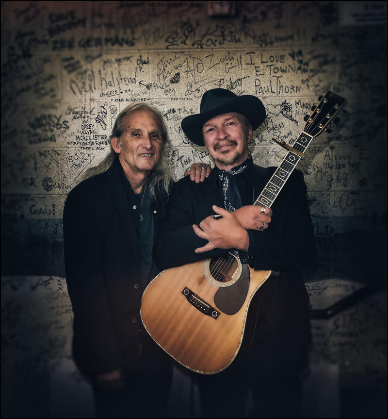 Two icons of Americana music, Jimme Dale Gilmore and Dave Alvin, have recorded an album of duets. They'll appear on Mountain Stage Sunday June 24, during FestivALL Charleston.