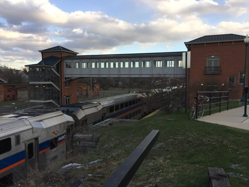 The Martinsburg Train Station (shown) is one of three Eastern Panhandle stations where the MARC train stops. The other two are located in Duffields and Harpers Ferry.
