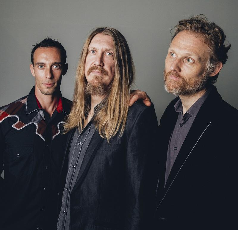 The Wood Brothers return to Mountain Stage with special guest-host Peter Mulvey Sunday June 24.