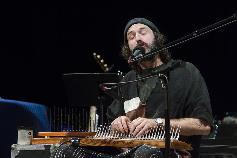 Joachim Cooder plays the mbira.