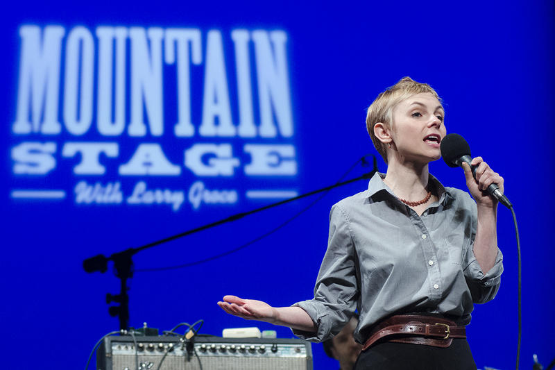 Kat Edmonson makes her third appearance on Mountain Stage on this week's broadcast.