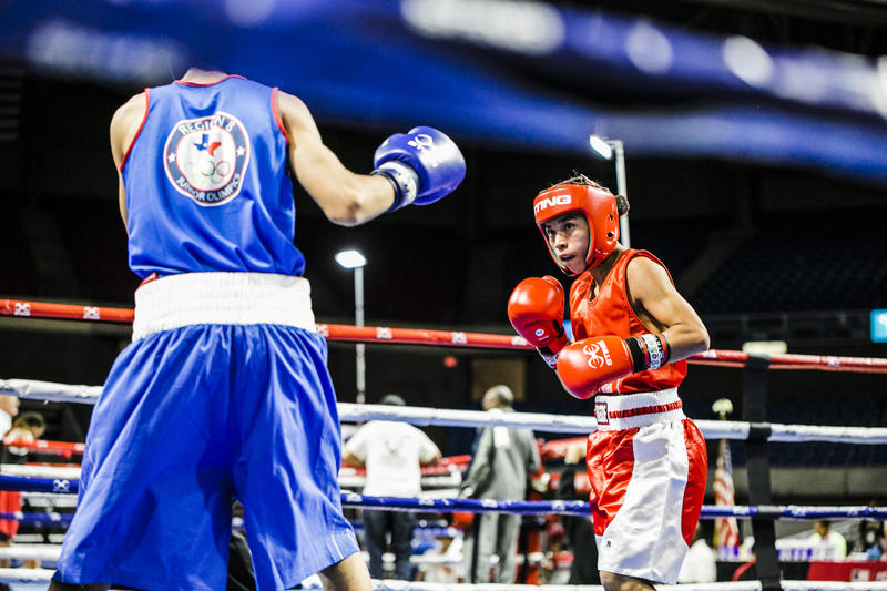 Youth boxing at the 2018 junior Olympics