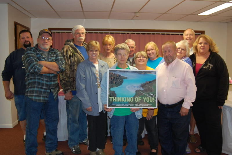 Residents formed Little Blue Regional Action Group to hold the utility accountable for contamination.