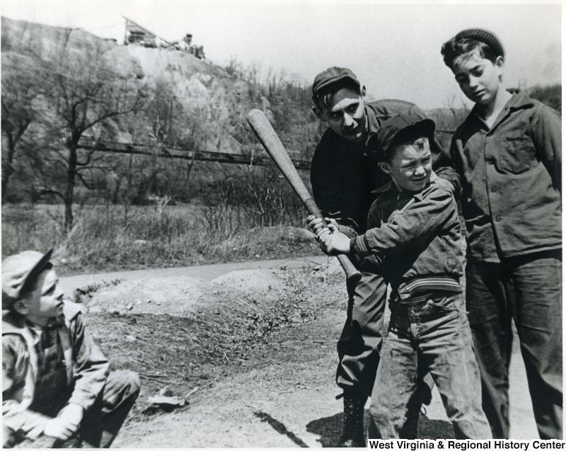 Jordan Mine Playground, Marion County, W. Va. 1953