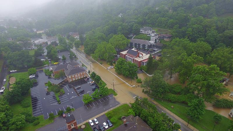 Flood West Virginia Public Broadcasting