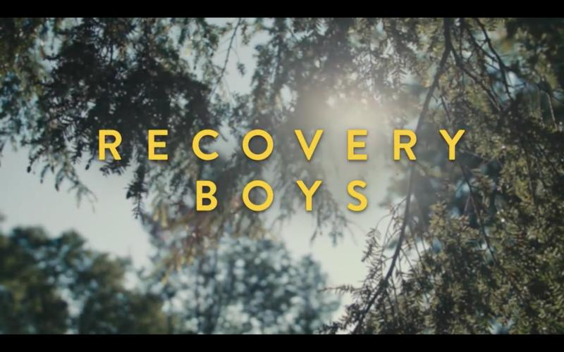 "Screenshot from the ""Recovery Boys"" trailer."