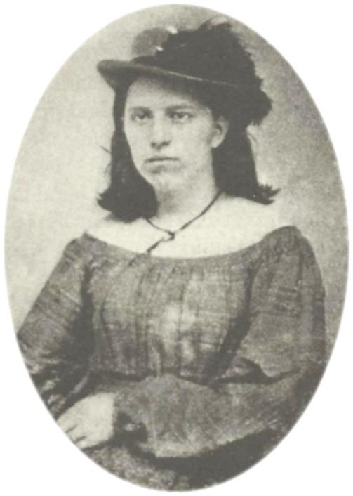 Nancy Hart after her capture in 1862