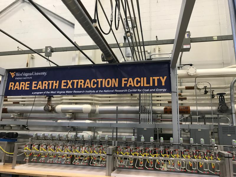 A new pilot facility aims to pave wave the way for commercial scale extraction of rare earth elements from acid mine drainage.