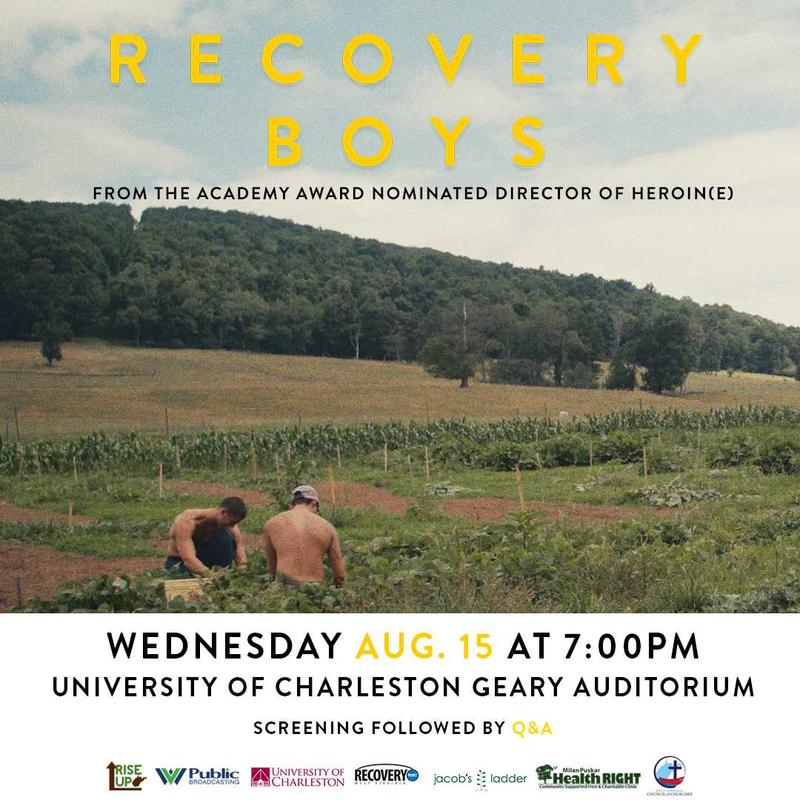 Recovery Boys - Charleston Screening