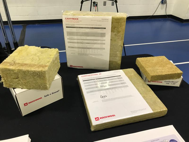 Rockwool product shown at an open house hosted by the company in Jefferson County in August 2018.