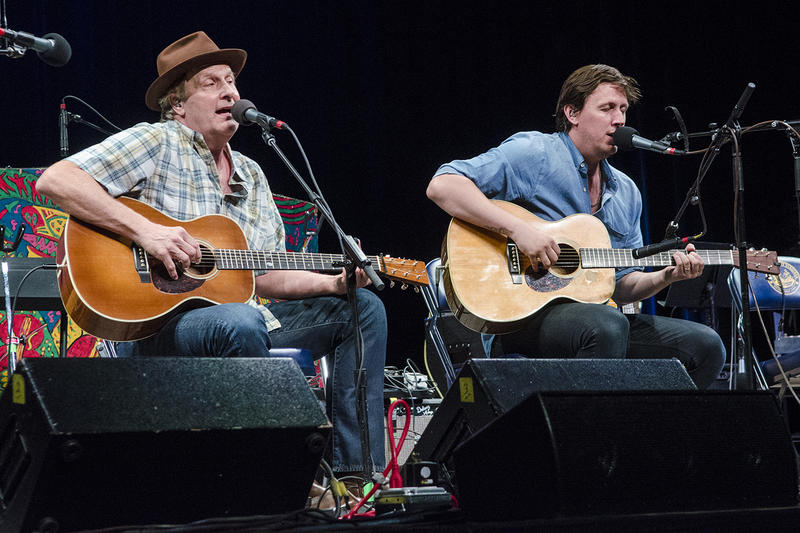 Jeff and Ben Daniels perform together on this week's episode of Mountain Stage.
