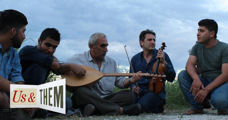 Stephan Said and Kurdish musicians