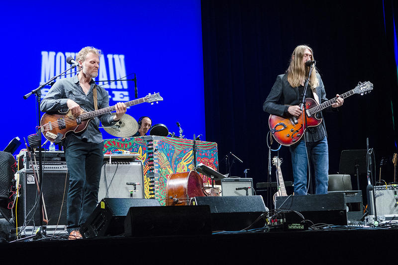 The Wood Brothers appear on this week's new episode of Mountain Stage.