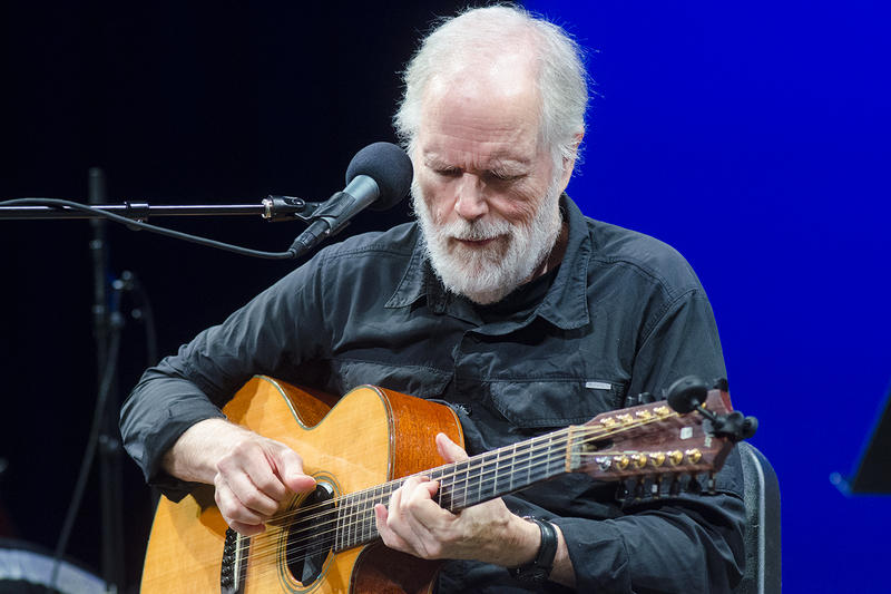 Leo Kottke performing on Mountain Stage for the 10th time. Hear his set on this week's episode.