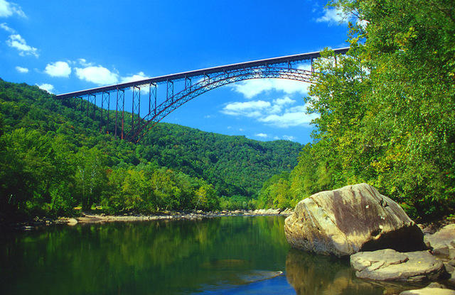 The Fayette County bridge has become one of West Virginia's most recognizable landmarks and was featured on the state quarter.