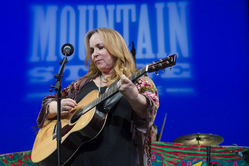 Gretchen Peters performing on Mountain Stage.