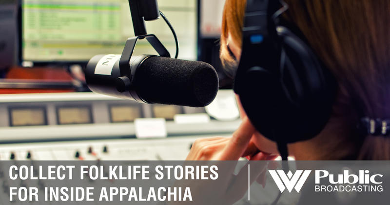 Collect Folklike Stories For Inside Appalachia