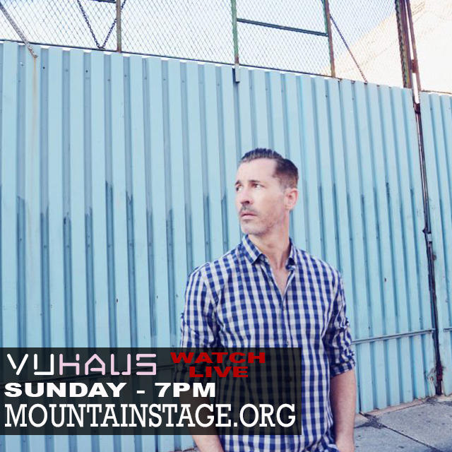 Canada's Royal Wood will appear on Mountain Stage for the second time this Sunday. Watch live at MountainStage.org wherever you are.