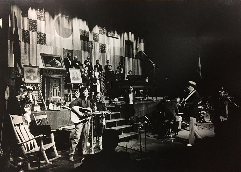 The very first regularly scheduled Mountain Stage, December 1983.