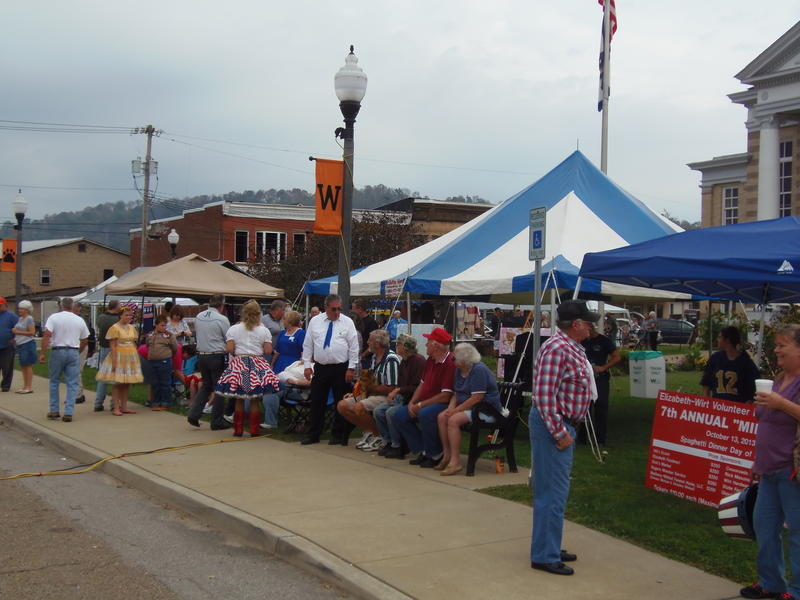 Wirt County Pioneer Day in Elizabeth, W.Va.
