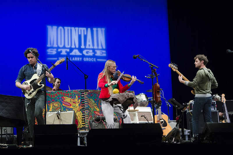 North Carolina's River Whyless make their second appearance on Mountain Stage on this week's broadcast.