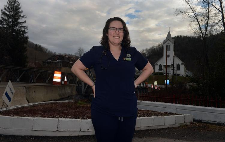 Dr. Joanna Bailey stands outside of the Tug River Health Association in Gary. Bailey is especially concerned about the effects of unclean water, and fear of it, can have on her patients throughout Southern West Virginia.