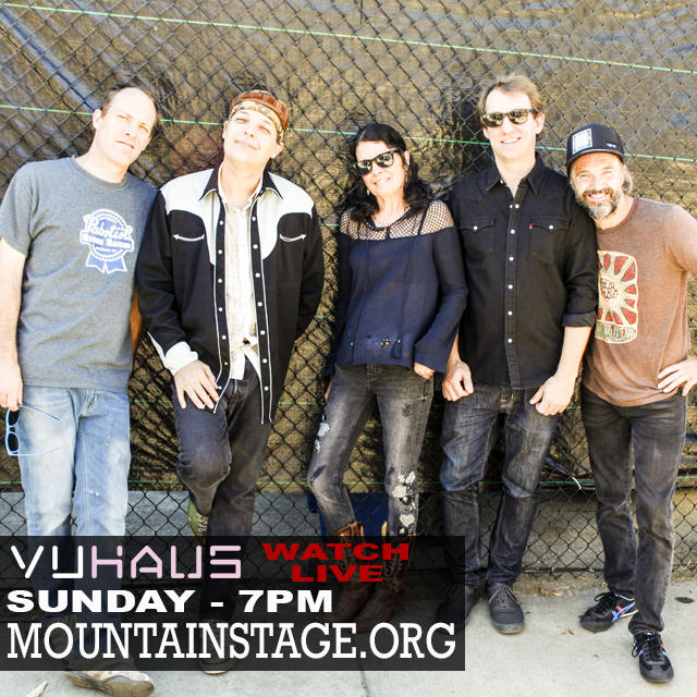 January 27 Donna The Buffalo join us on Mountain Stage