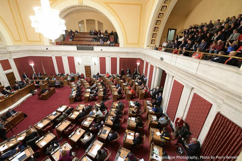 Members of the public testified Monday, Feb. 11, 2019 on Senate Bill 451.