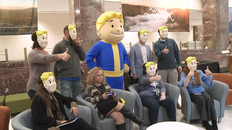W.Va. Tourism event at the West Virginia Capitol on Nov. 14, 2018 celebrating the launch of Fallout 76.