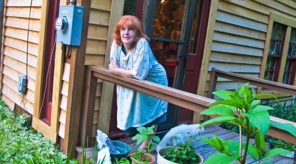 Irene McKinney at her home, June 16th, 2011