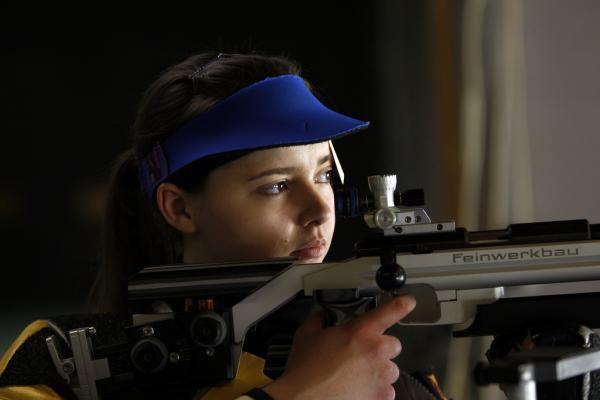 Ziva Dvorsak, Junior at WVU, joins No. 3 Rifle Team in the US