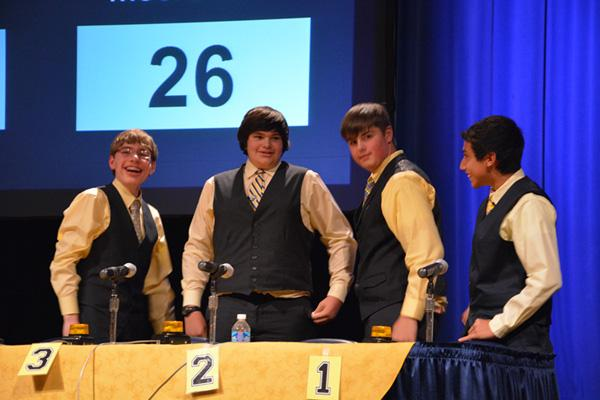 The 2014 West Virginia History Bowl champion team is from Moorefield Middle School.
