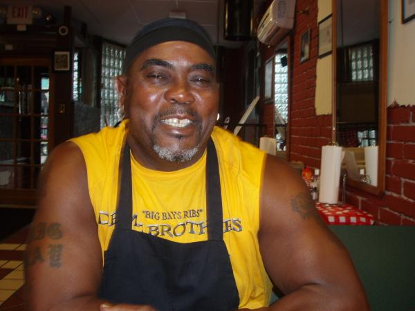 Adrian Wright is the owner of Dem 2 Brothers and a Grill