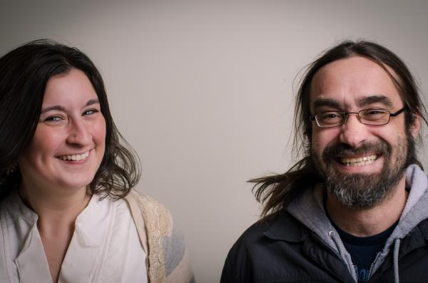 Vasilia Scouras and Jeff Shirley are two of the people behind Mountain Stage