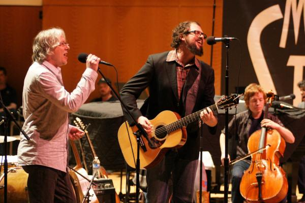 "Drive-By Truckers' Patterson Hood made his second appearance on Mountain Stage in 2012. What made this performance even more special? The surprise appearance of R.E.M.'s Mike Mills, who joined Hood on stage for the song ""After It's Gone."""