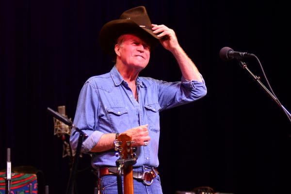 Billy Joe Shaver's 2011 performance marks his sixth appearance on Mountain Stage.