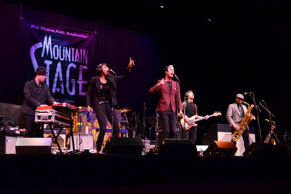 Fitz and the Tantrums performed for the first time on Mountain Stage in 2011.