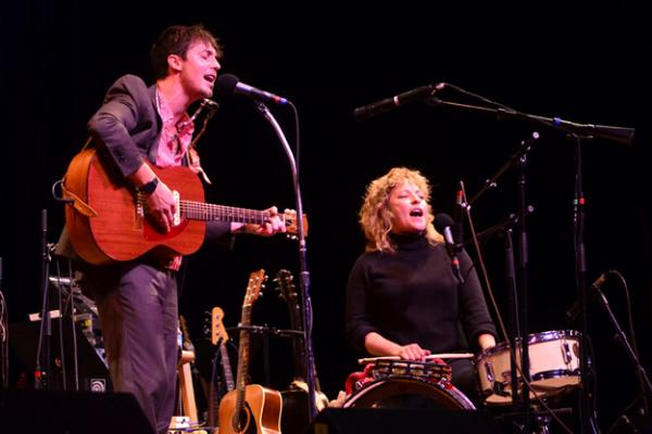 Shovels & Rope made its first appearance on Mountain Stage in 2013. They'll make their second appearance this year as part of Mountain Stage's fall schedule.
