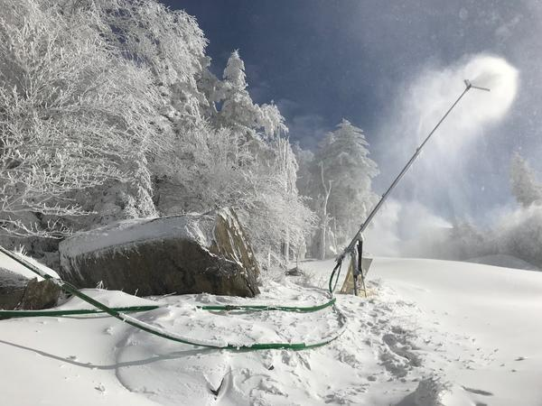 making snow in a warming world w va winter sports industry