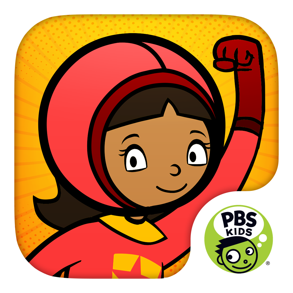 word up there s a wordgirl app that ll make you a superhero west