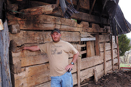 W Va Barn Demolition Uncovers 19th Century School West