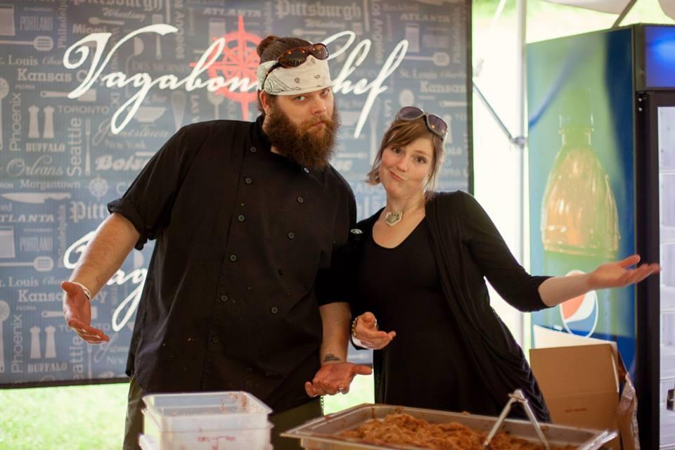 matt and katie welsch owners of the vagabond kitchen in downtown wheeling - Vagabond Kitchen