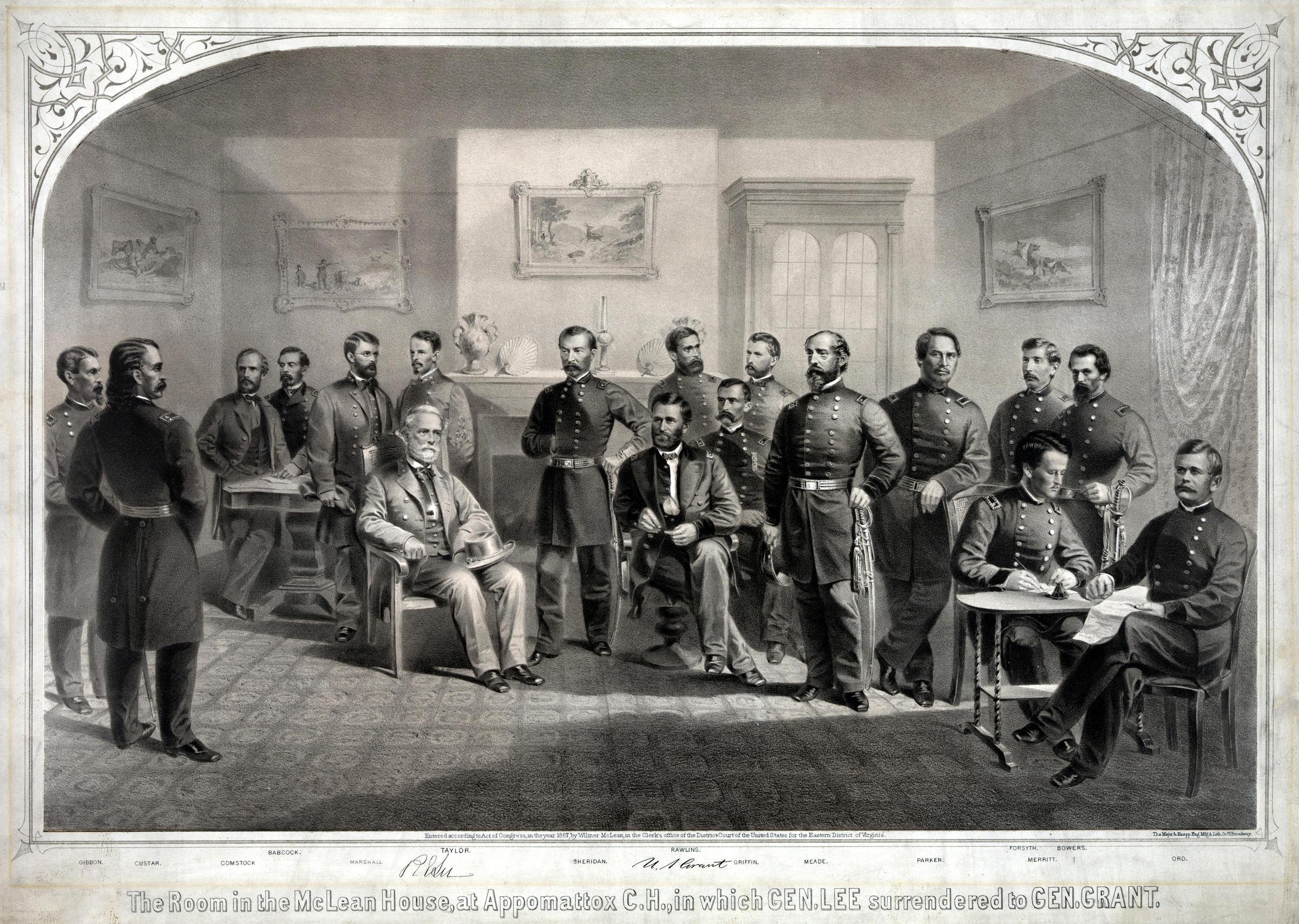 Bell Ringing Commemorates Lee's Surrender April 9, 1865
